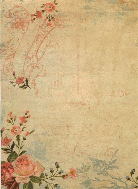 vintage wallpaper craft roses papers free vintage paper and decoupage