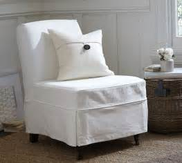 Maxton slipcovered slipper chair denim warm white pottery barn