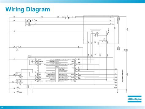atlas copco compressor wiring diagram atlas copco ga 75