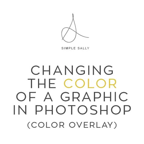 change pattern overlay color photoshop a simple sally tutorial changing the color of your