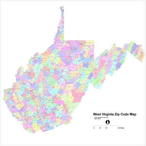 zip code map virginia zip code map my