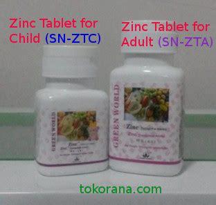 Obat Gemuk Herbal Zinc cara menambah berat badan orang dewasa dalam waktu 2