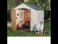 Lifetime Shed Installation by 60088 Horizontal Garbage Bin Shed By Lifetime How To