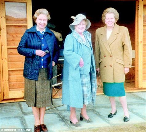 thatcher at odds with the queen no but her real fan was