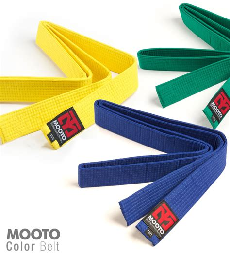 taekwondo belt colors mooto 8 color belt 160cm 180cm taekwondo grade belt tkd