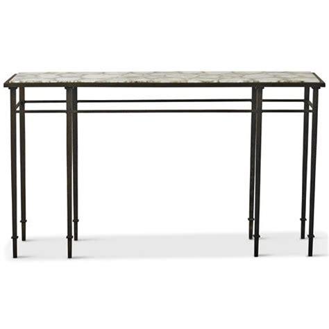 60 inch console table vesuvio global bazaar agate iron console table 60 inch