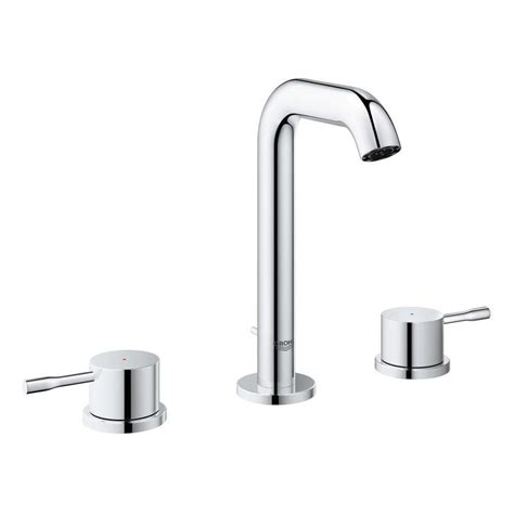 grohe bathtub faucets shop grohe essence chrome 2 handle widespread bathroom