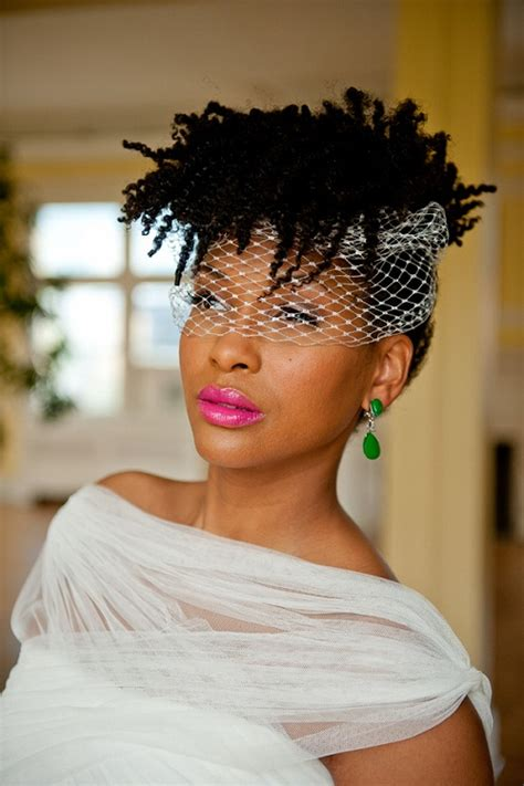 older brides hairstyles african american brides with natural hair veil or no