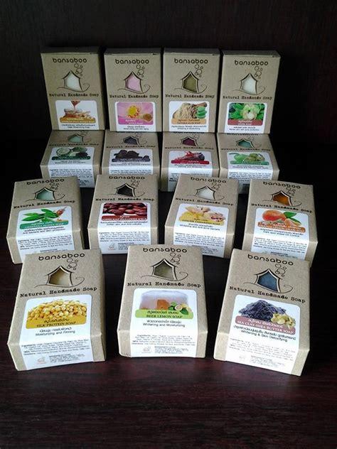 Handmade Brands - premium soap thailand handmade brand bansaboo