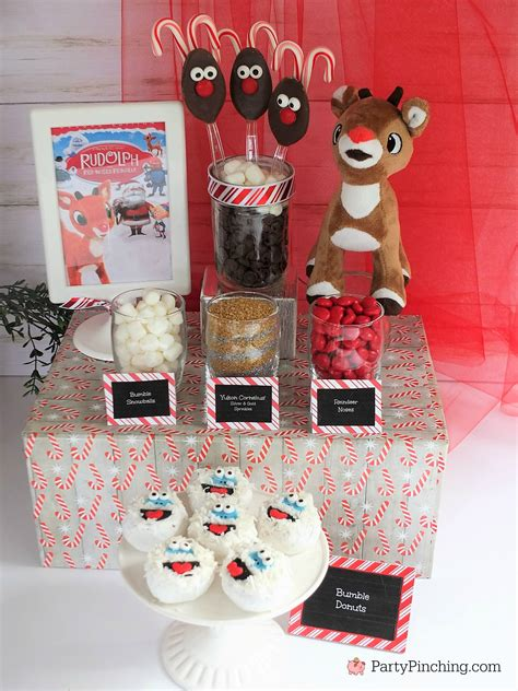 inexpensive party treats food  christmas easter