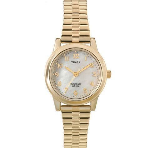 timex gold stainless steel t2m827