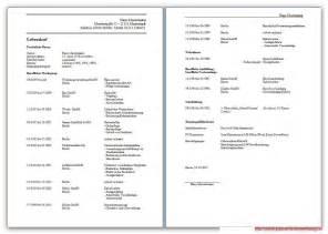 Vorlage Lebenslauf Und Bewerbung Lebenslauf Kostenlose Vorlagen Und Hilfreiche Infos