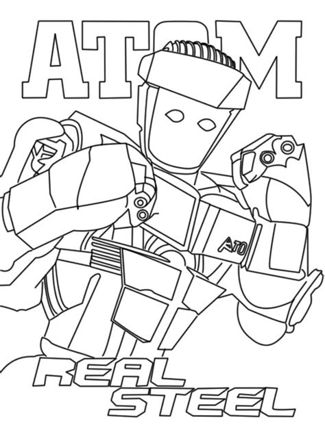 pin real steel coloriage on pinterest