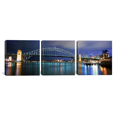sydney opera house coordinates latitude run sydney harbour bridge sydney opera house australia 3 piece photographic