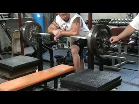 bench press negatives dukes iron zoo negative bench press youtube
