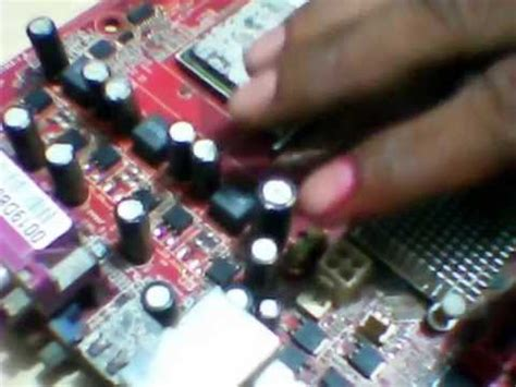 vrm section how to repair vrm section in motherboard shorting