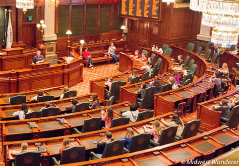 house of representatives illinois illinois state capitol take the tour midwest wanderer