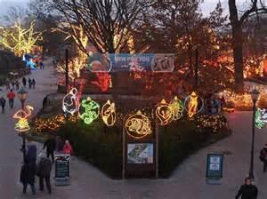 lights at the toledo zoo toledo zoo lights compete for best in u s toledo blade