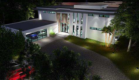 Tropical House Designs And Floor Plans two story modern glass home design next generation