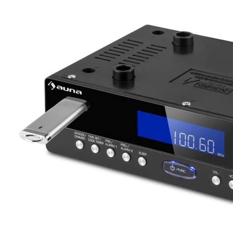 kr 100 bk radio de cuisine encastrable bluetooth