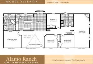 Double Wide Floor Plans 4 Bedroom Double Wide Mobile Home Floor Plans Galleryhip