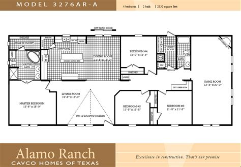 4 bedroom double wide mobile home floor plans the 23 best 4 bedroom mobile home home plans
