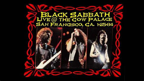 black sabbath born again tour madrid 83 ian black sabbath quot neon nights quot live at the cow palace 1984
