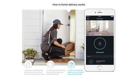 amazon home amazon announces cloud cam security camera and key in home