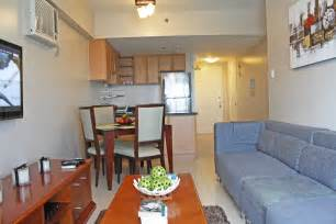 Shared Living Room And Dining Area Condo Philippine Houses Condominiums And Lots