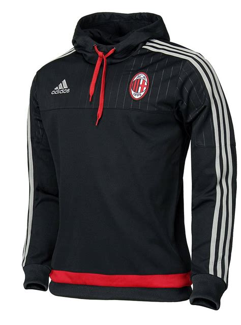 hd sweat top hoodie ac milan adidas sweatshirt