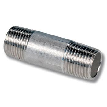 Nepel Nepple Stainless Steel 304 Dia 1 1 4 quot diameter sch 80 stainless steel fast fittings