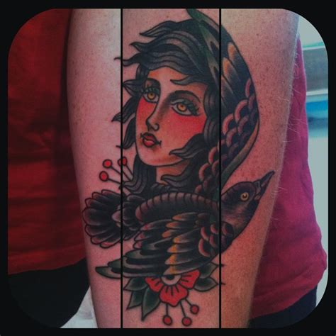 seawolf tattoo black bird minneapolis shop in mn