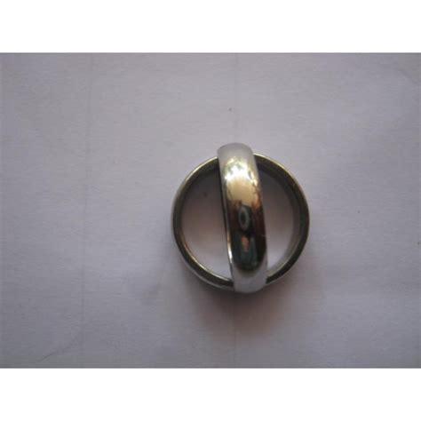 Cincin Xuping Putih jual cincin besi putih asli cocok sebagai cincin pernikahan www kakalushop