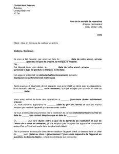 Exemple De Lettre De Mise En Demeure Pour Nuisance Sle Cover Letter Exemple De Lettre De Mise En Demeure