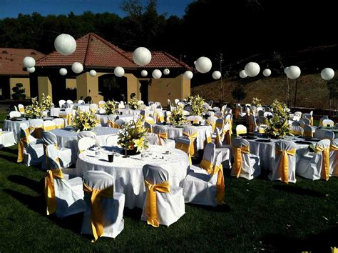 how to make wedding decorations at home stunning outdoor wedding reception decoration ideas for s