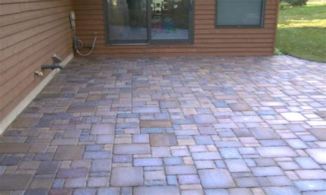How To Make A Paver Patio Patio Pavers Designs Patio Paver Ideas Easy Paver Patio Ideas Interior Designs Suncityvillas