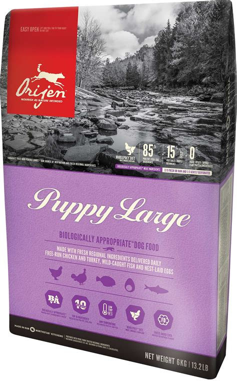 orijen puppy large orijen puppy large breed 11 4kg big world