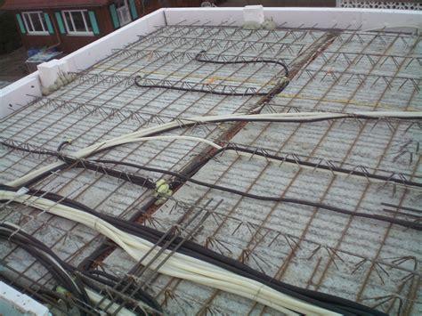 decke neubau leerrohre betondecke leerrohre neubau