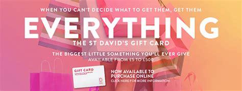 win a st david s gift card capital south wales - St Davids 2 Gift Card
