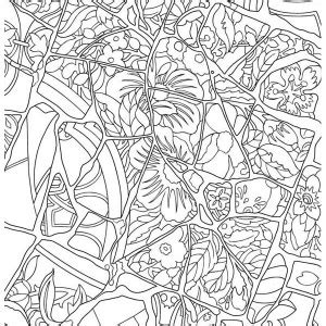 thanksgiving mosaic coloring page mosaic colouring for kids flower mosaic coloring pages