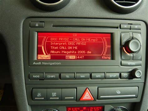 Audi A3 Sportback Radio by Audi A3 Sportback Radio Mit Navi Einfach Austauschbar