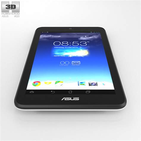 Tablet Asus Hd 7 asus memo pad hd 7 white 3d model hum3d