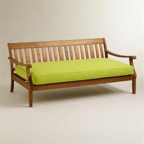 deep bench apple green deep bench slipcover world market