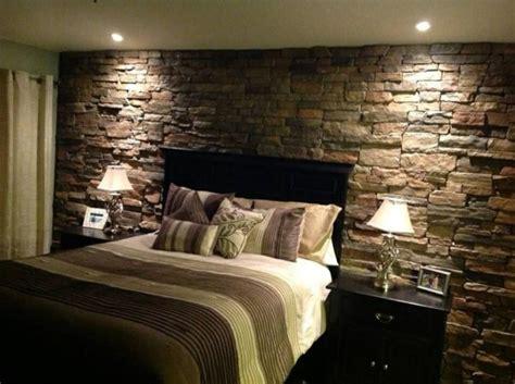 brick wall bedroom design
