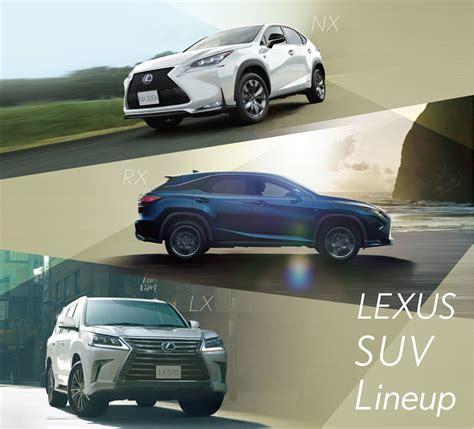 Lexus Suv Lineup by Lexus Suv Lineup Fair 4x4magazine Co Jp