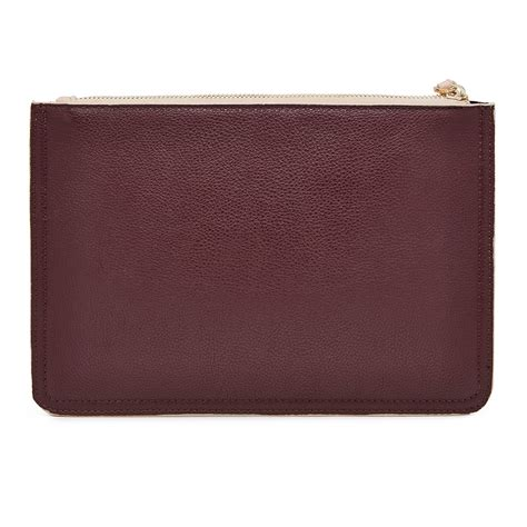 Bag Fashion 2tone Mighty Purse 2tone Clutch Bag In Soft Pink And Purple