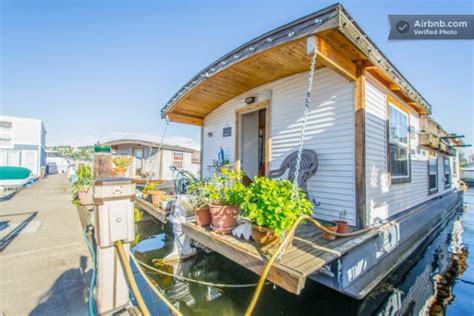 tiny house vacation rental barge tiny house vacation rental on wheels or on the water