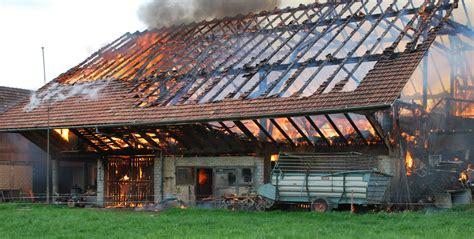 scheune schweiz rothenburg lu brand wohnhaus und scheune polizei