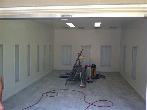 garage paint booth