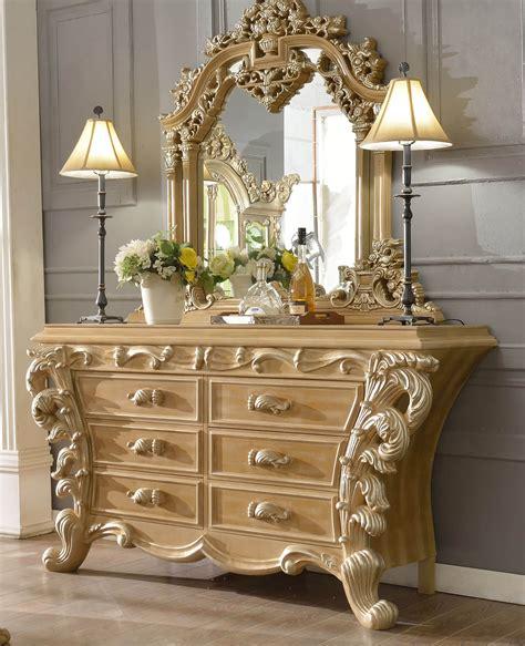 Homey design royal kingdom hd 7012 dresser amp mirror